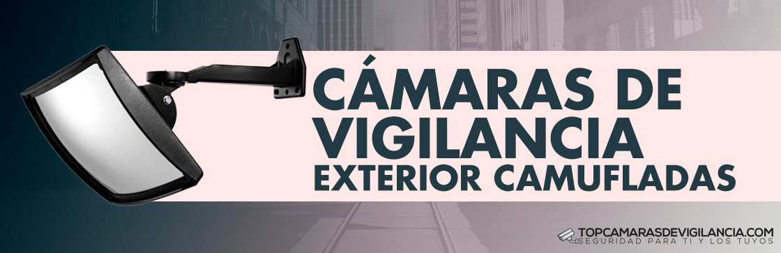 Mejores Cámaras Vigilancia Exterior Camufladas