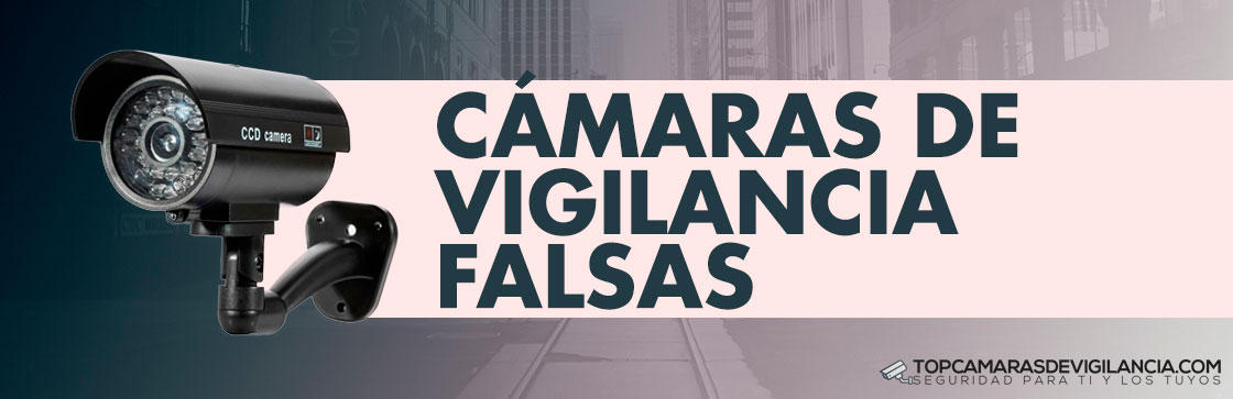 Mejores Cámaras de Vigilancia Falsas